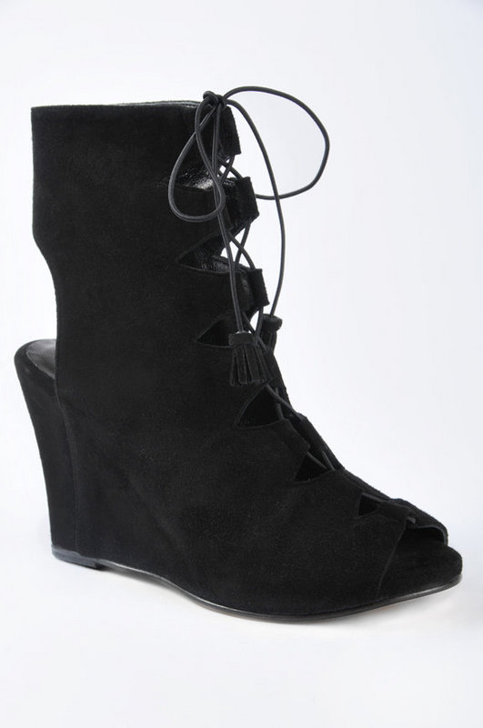 Opening Ceremony Platform Laceup Bootie at Tobi from tobi.com