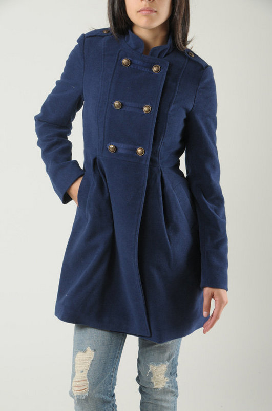 BB Dakota Royalty Coat at Tobi