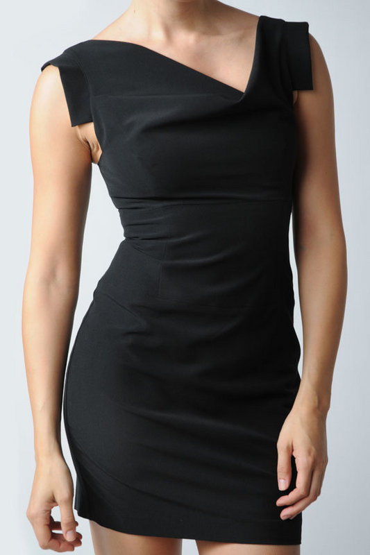 Black Halo Jackie O Mini Dress at Tobi from tobi.com